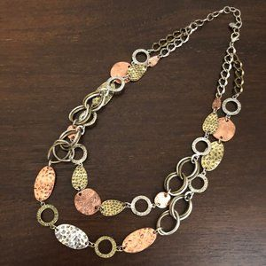 Ruby Rd Mixed Metal Necklace
